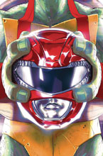 Image: Power Rangers / Teenage Mutant Ninja Turtles #1 (cover B - Montes) - Boom! Studios