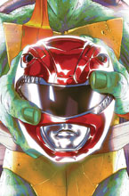 Image: Power Rangers / Teenage Mutant Ninja Turtles #1 (cover C - Montes) - Boom! Studios