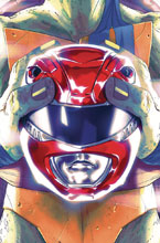 Image: Power Rangers / Teenage Mutant Ninja Turtles #1 (cover D - Montes) - Boom! Studios