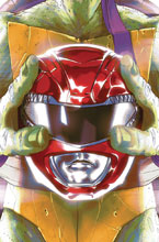 Image: Power Rangers / Teenage Mutant Ninja Turtles #1 (cover E - Montes) - Boom! Studios