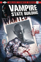 Image: Vampire State Building #4 (cover C - Casas) - Ablaze