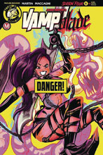 Image: Vampblade: Season 4 #8 (cover F - Langell risque) - Action Lab - Danger Zone