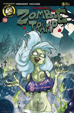 Image: Zombie Tramp #67 (cover C - Chimisso) - Action Lab - Danger Zone