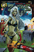 Image: Zombie Tramp #67 (cover E - Trom) - Action Lab - Danger Zone