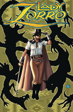 Image: Lady Zorro #1 (cover C - Pulp) - American Mythology Productions