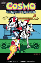 Image: Cosmo Mighty Martian #2 (cover B - Fonseca) - Archie Comic Publications