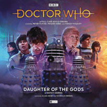 Image: Doctor Who Audio CD: Early Adventures - Daughter of Gods  - Big Finish