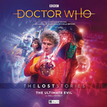 Image: Doctor Who Audio CD: 6th Doctor - Lost Stories Ultimate Evil  - Big Finish