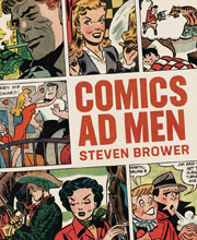 Image: Comics Ad Men SC  - Fantagraphics Books
