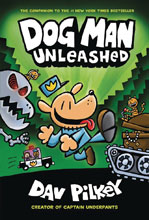 Image: Dog Man with Dust Jacket Vol. 02: Unleashed GN HC  - Graphix