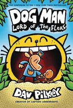 Image: Dog Man with Dust Jacket Vol. 05: Lord of Fleas GN HC  - Graphix