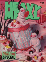 Image: Heavy Metal #297 (cover B - TBD) - Heavy Metal Magazine
