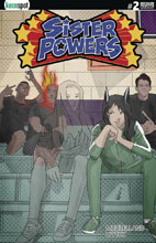 Image: Sister Powers #2 (cover E incentive 1:5 - Transformed) - Keenspot Entertainment