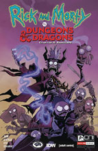 Image: Rick & Morty vs. D&D II: Painscape #4 (cover A - Little) - Oni Press Inc.