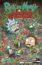 Image: Rick & Morty vs. D&D II: Painscape #4 (cover B - Wells) - Oni Press Inc.