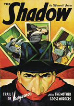 Image: Shadow #147: Trail of Vengeance & Mother Goose Murders SC  - Sanctum Productions