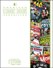 Image: American Comic Book Chronicles: 1950s HC  - Twomorrows Publishing