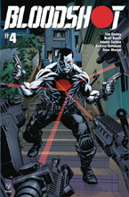 Image: Bloodshot [2019] #4 (cover B - Mckone) - Valiant Entertainment LLC