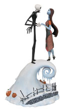 Image: Nightmare Before Christmas Milestones Statue: Jack & Sally  - Diamond Select Toys LLC