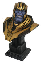 Image: Legends in 3D Marvel Bust: Avengers 4 - Thanos  (1/2 Scale) - Diamond Select Toys LLC