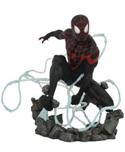 Image: Marvel Premier Collection Statue: Miles Morales  - Diamond Select Toys LLC