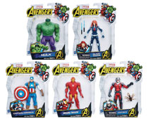 Image: Avengers 6-Inch Basic Action Figure Assortment 201901  - Hasbro Toy Group