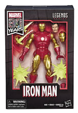 Image: Marvel Legends 80th Ann Comic Iron Man Action Figure Set Case  (6-inch) - Hasbro Toy Group