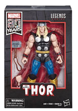 Image: Marvel Legends 80th Ann Comic Thor Action Figure Set Case  (6-inch) - Hasbro Toy Group