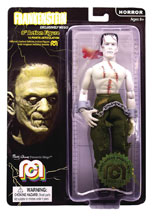 Image: Mego Horror Wave 6 Action Figure: Frankenstein Bare Chest  (8-inch) - Mego Corporation