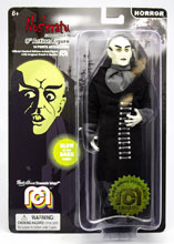 Image: Mego Horror Wave 6 Action Figure: Nosferatu  (Glow-in-the-Dark) (8-inch) - Mego Corporation