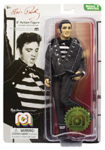 Image: Mego Legends Wave 6 Action Figure: Elvis Jailhouse Rock  (8-inch) - Mego Corporation