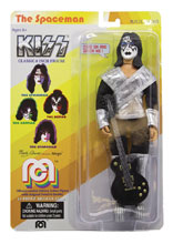 Image: Mego Music Wave 7 Action Figure: Kiss Love Gun - Spaceman  (8-inch) - Mego Corporation