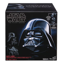 Image: Star Wars: Black Electronic Helmet: Darth Vader Case  - Hasbro Toy Group
