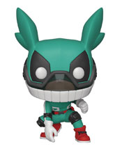 Image: Pop! Animation Vinyl Figure: My Hero Academia - Deku  (w/Helmet) - Funko