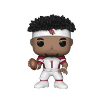 Image: Pop! NFL Vinyl Figure: Cardinals - Kyler Murray  (Home Jersey) - Funko