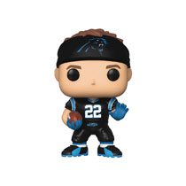 Image: Pop! NFL Vinyl Figure: Panthers - Christian Mccaffrey  - Funko