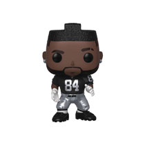 Image: Pop! NFL Vinyl Figure: Raiders - Antonio Brown  (Home Jersey) - Funko