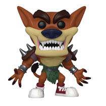 Image: Pop! Games Vinyl Figure: Crash Bandicoot S3 - Tiny Tiger  - Funko