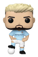 Image: Pop! Premiere League Football Vinyl Figure: Manchester City - Sergio Aguero  - Funko