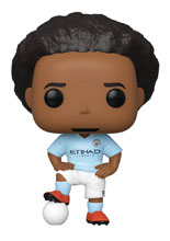 Image: Pop! Premiere League Football Vinyl Figure: Manchester City - Leroy Sane  - Funko