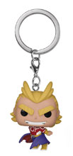 Image: Pocket Pop! My Hero Academia Keychain: All Might Silver Age  - Funko