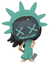 Image: Pop! Movies Vinyl Figure: Purge - Lady Liberty  - Funko