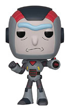 Image: Pop! Rick & Morty Vinyl Figure: Rick in Mech Suit  - Funko