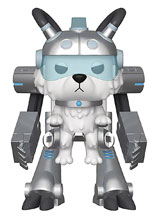 Image: Pop! Rick & Morty Vinyl Figure: Snowball in Mech Suit  - Funko