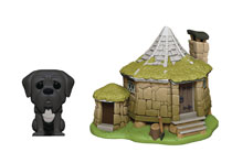 Image: Pop! Town Harry Potter Vinyl Figure: Hagrid's Hut  (w/Fang) - Funko