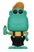 Image: Pop! Pez Ad Icons: Mimic the Monkey Teal  - Funko