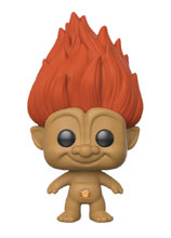 Image: Pop! Trolls Vinyl Figure: Orange Troll  - Funko