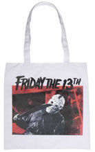 Image: Friday the 13th Canvas Tote: Image Capture  - Bioworld Merchandising