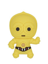 Image: Star Wars 3D Foam Magnet: C-3PO  - Monogram Products