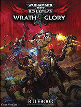 Image: Warhammer 40K RPG: Wrath & Glory Rulebook HC  - Cubicle 7 Entertainment